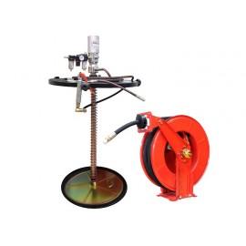 Engrasadora De Tambor 180 Kg Con Carretel