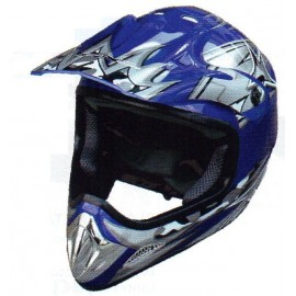 Casco Moto Enduro Graficas ABS Tallas M-L