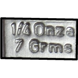 Pesa Adhesiva 1/4 14 GRS