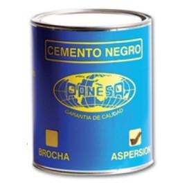 Cemento Negro Por 1 Litro